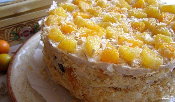 Яичный торт