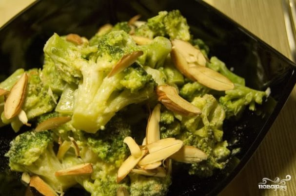 капуста брокколи тушеная рецепты приготовления