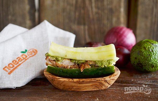 Огуречный сэндвич от повара