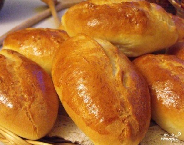 Пирожки с картошкой и ветчиной
