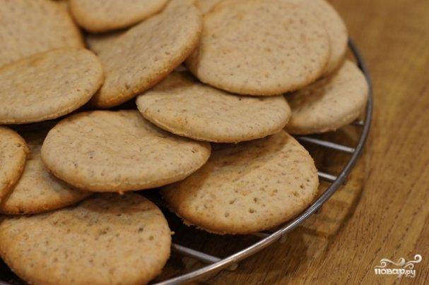 рецепт печенья для ребенка до года из каши
