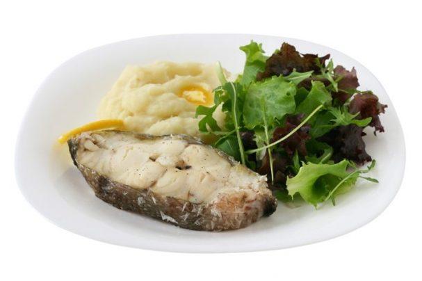 Отварная рыба для похудения