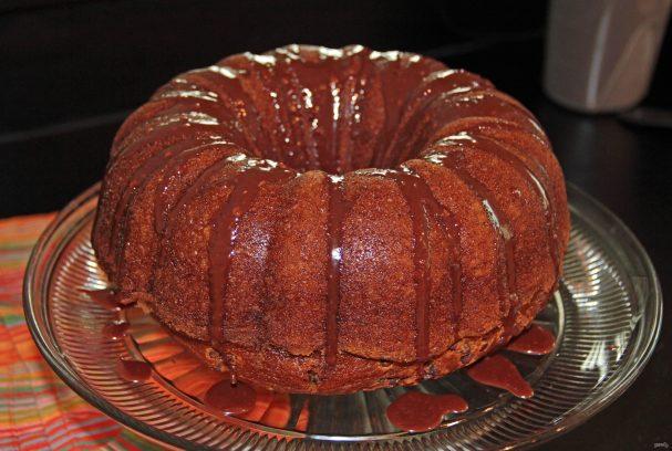 Тыквенный кекс с шоколадом