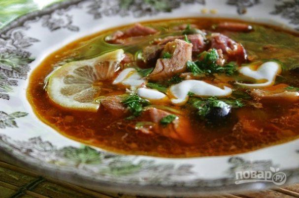 Солянка суп классический рецепт пошагово 66