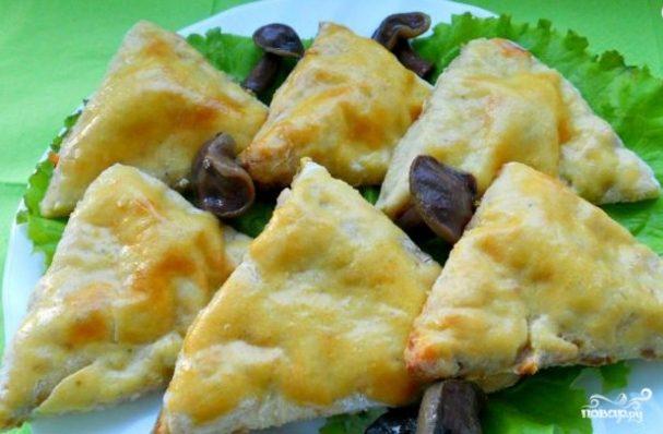 Картофельные треугольники