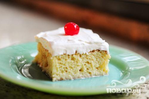 Пирог со сгущенным молоком