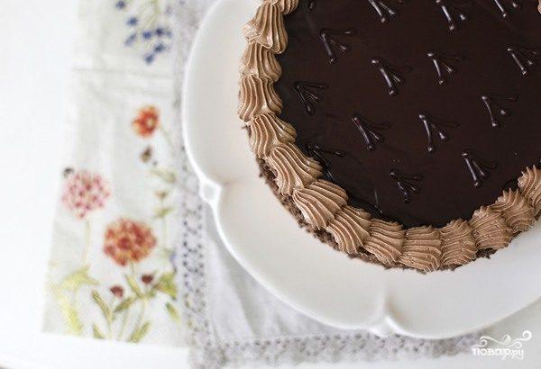 торт гусиные лапки шоколадный бисквит
