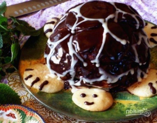 """Торт """"Черепаха"""" (простой рецепт)"""