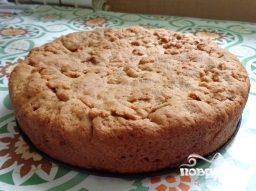 вегетарианский творожный пирог из песочного теста