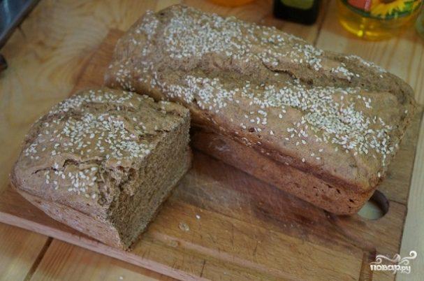 Домашний хлеб на закваске в духовке