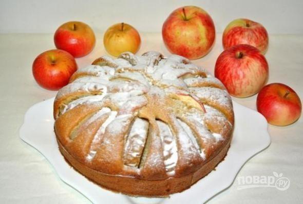 Пирог сметанный домашний