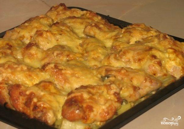 Куриные голени с картофелем