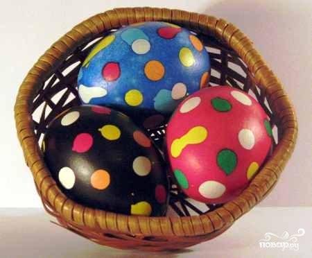 """Крашеные яйца """"Крапанки"""""""