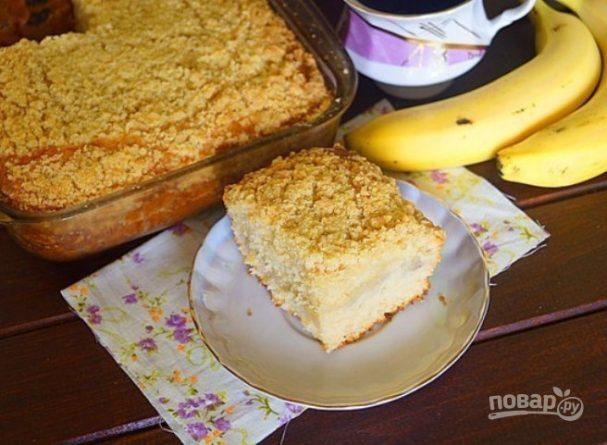 Бразильский банановый пирог