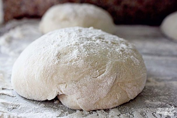 Постное тесто без дрожжей