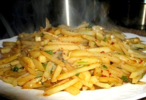Картофель по-китайски