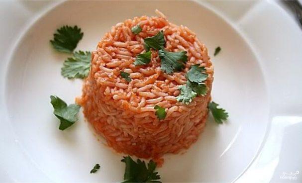 Рис в утятнице