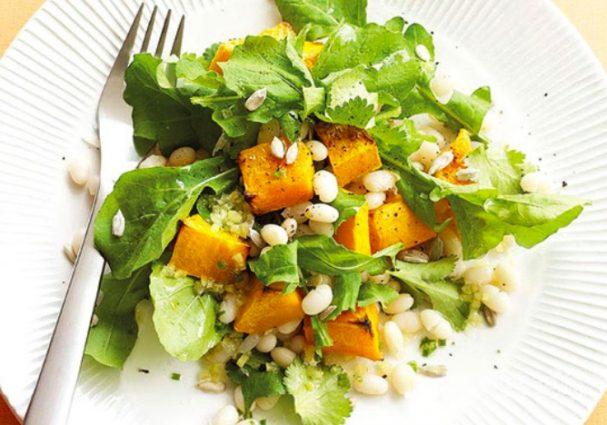 Салат из тыквы быстро и вкусно
