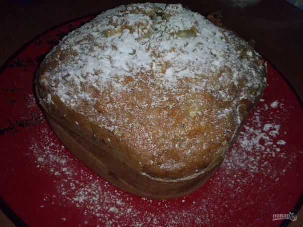 Кекс с яблоками в хлебопечке