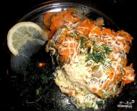 пошаговый фото рецепт хек в духовке