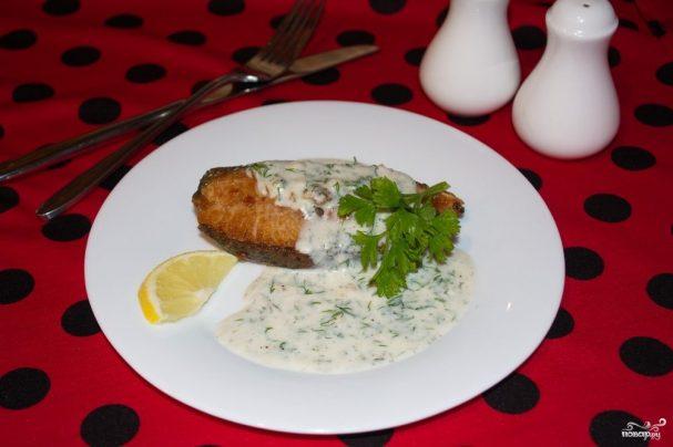 Рыба под соусом