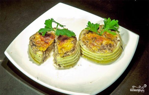 Тарталетки из кабачков