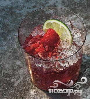Малиново-розовый джин Рикки