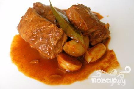 Рыба в горячем соусе