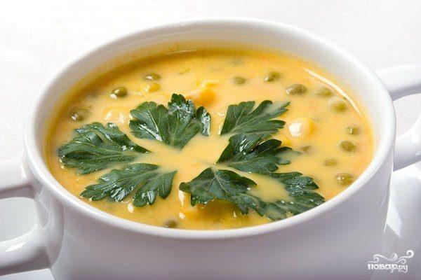 Гороховый суп с ребрышками