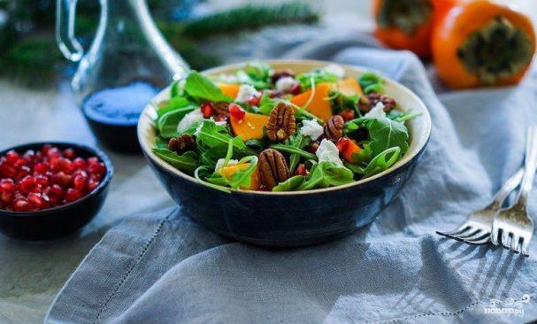 салат новогодняя сказка - фото, рецепт