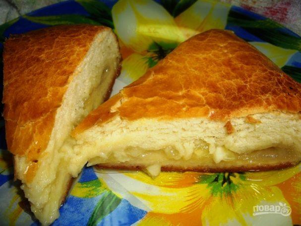 Лимонник (пирог из дрожжевого теста)