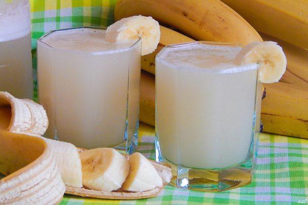 Квас из банановой кожуры