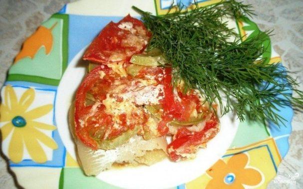 Пангасиус с овощами в мультиварке