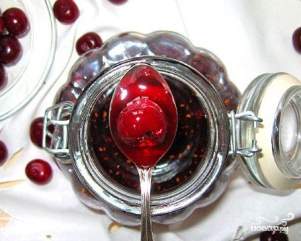 Варенье из малины и вишни