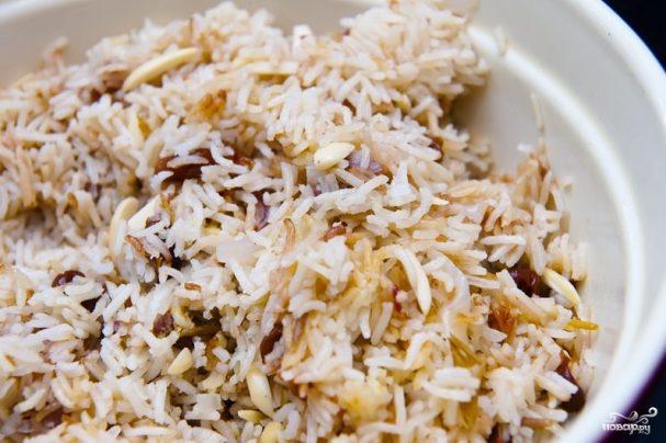 Рис с финиками