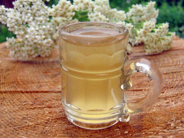 Квас из березового сока с медом