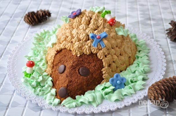 """Торт """"Лесной гость"""""""