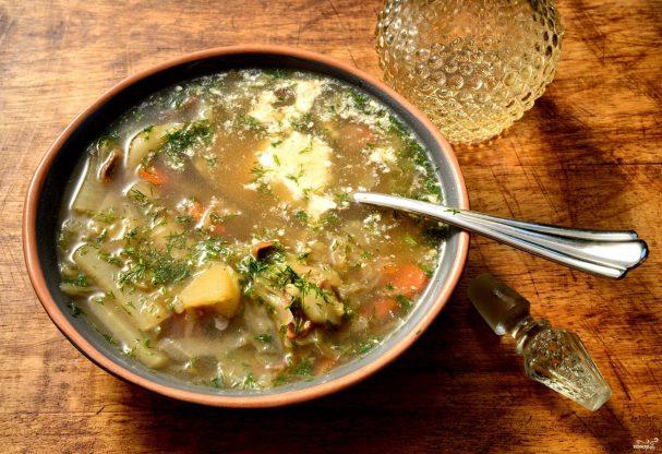 Суп из маринованной капусты