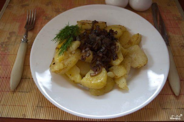 Диетическое блюдо из картофеля