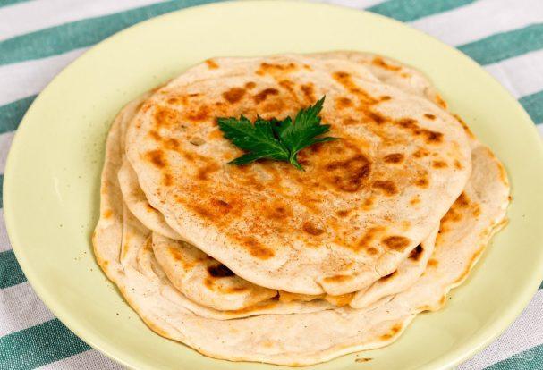 Индийские лепешки с начинкой