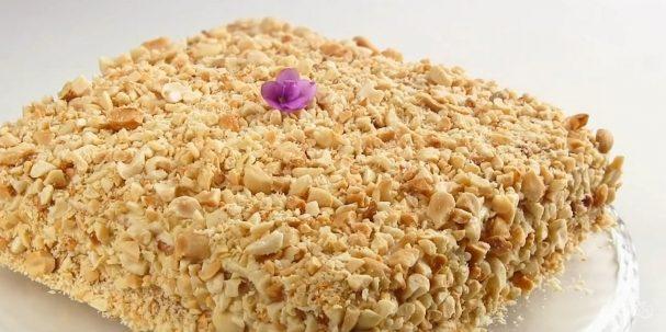 """Торт """"Подарочный"""" (простой и вкусный)"""