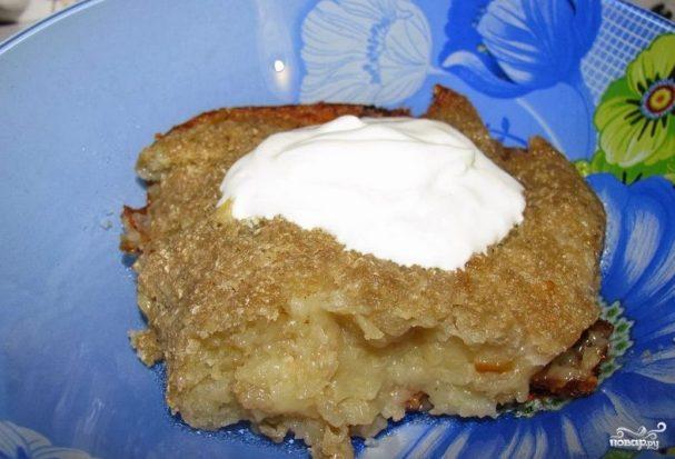 Картофельная бабка в духовке