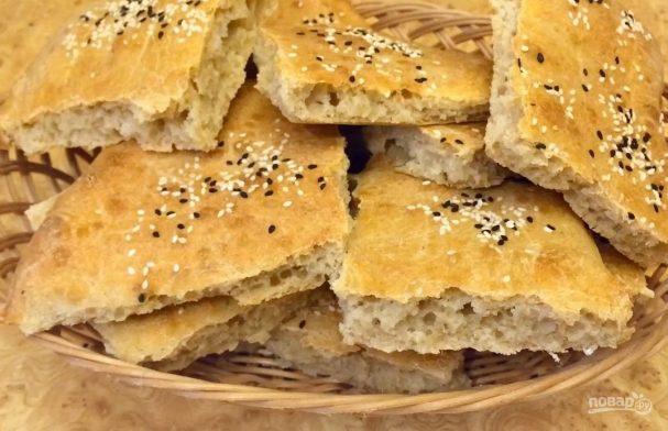 Пшеничные сдобные квадратики
