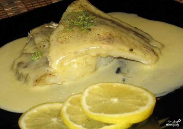 Соус для рыбы на пару