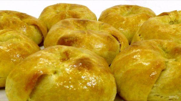 Кныши с картофелем