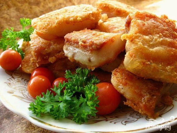 Филе сома с базиликом и тимьяном