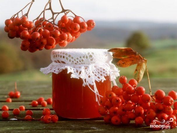 Варенье из лесной рябины