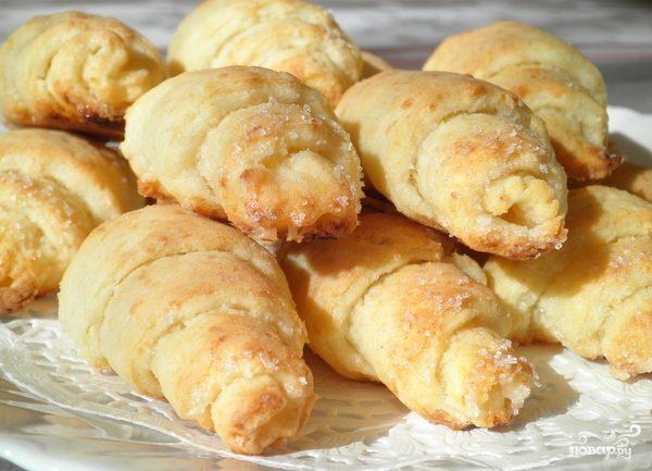 Воздушные булочки с начинкой