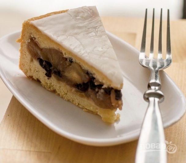 Французский пирог с яблоками