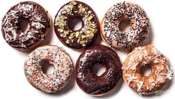 Легкий рецепт пончиков